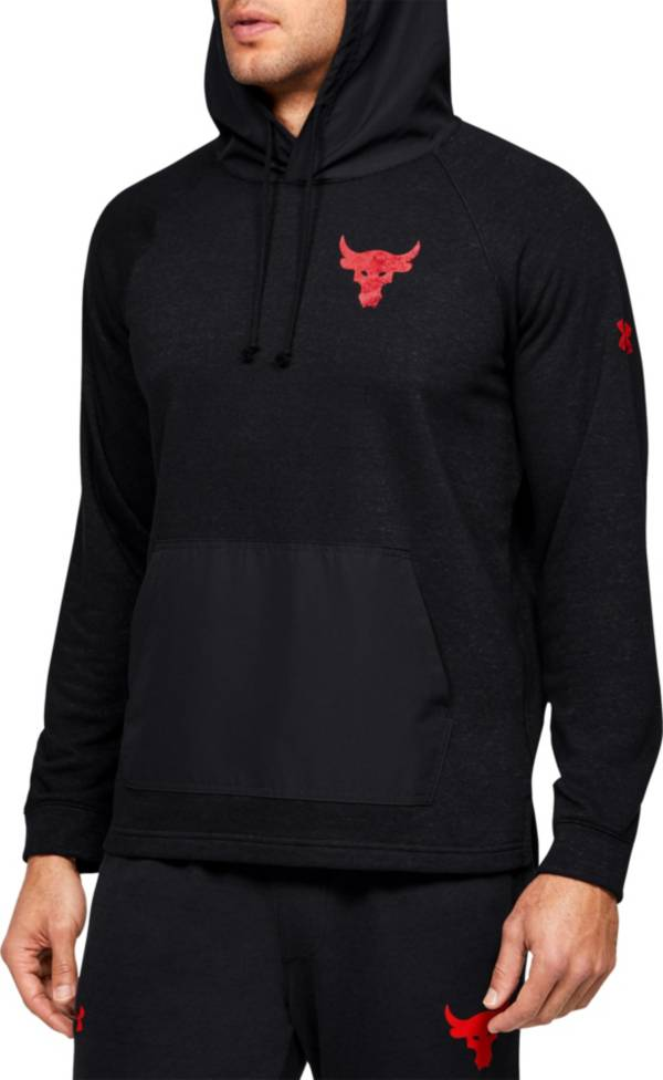 Under Armour Men's Project Rock Snake Graphic Terry Fleece Hoodie product image