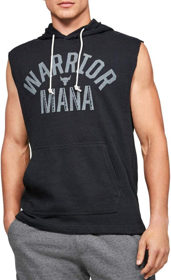 Under Armour Men's Project Rock Warrior Mana Sleeveless Hoodie product image