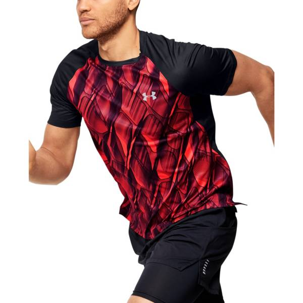 Under Armour Men's Qualifier Printed Running Short Sleeve T-Shirt (Regular and Big & Tall) product image