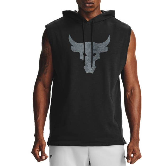 Under Armour Men's Project Rock Charged Cotton Sleeveless Hoodie product image