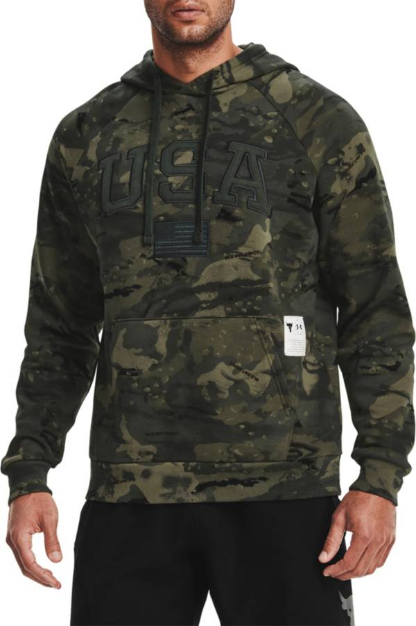 Under Armour Men's Project Rock Veteran's Day Camo Pullover Hoodie product image