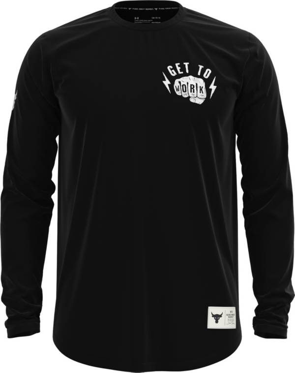 Under Armour Men's Project Rock Get To Work Graphic Long Sleeve Shirt product image