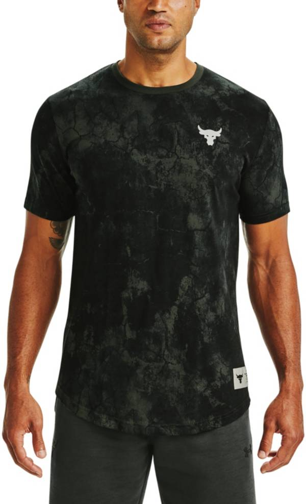 Under Armour Men's Project Rock Veteran's Day Allover Print T-Shirt product image