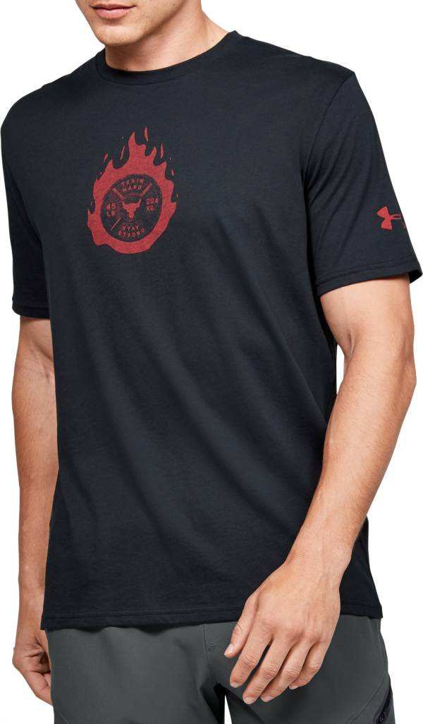 Under Armour Men's Project Rock Stay Strong Graphic T-Shirt product image