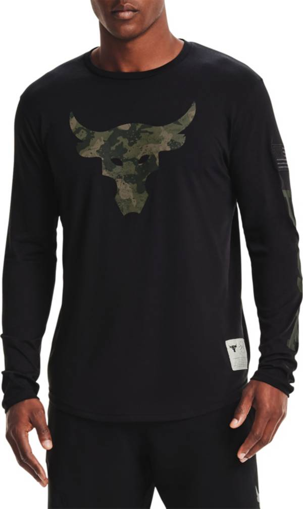 Under Armour Men's Project Rock Veteran's Day Graphic Long Sleeve Shirt product image