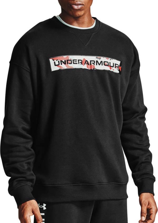 Under Armour Men's Rival Fleece Camo Crewneck Sweatshirt product image