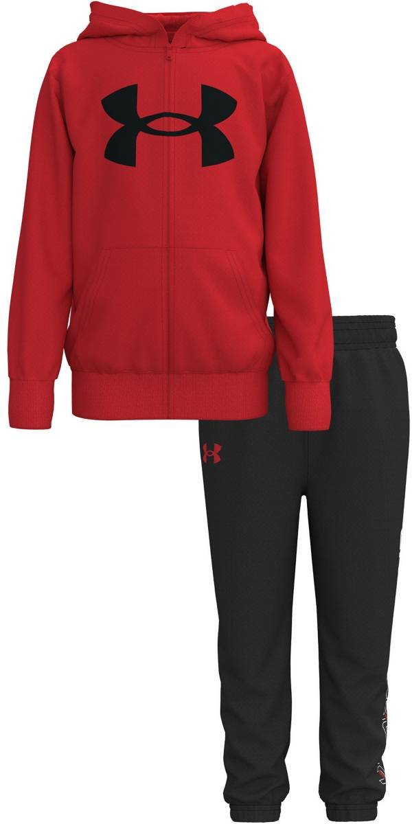 Under Armour Little Boys' Box Logo Full-Zip Hoodie and Pants Set product image