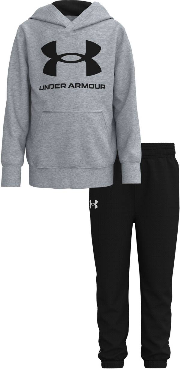 Under Armour Toddler Boys' Big Logo Pullover Hoodie and Pants Set product image