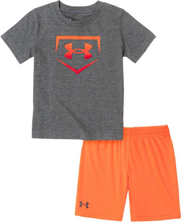 Under Armour Little Boys' Ombre Base T-Shirt and Shorts Set product image