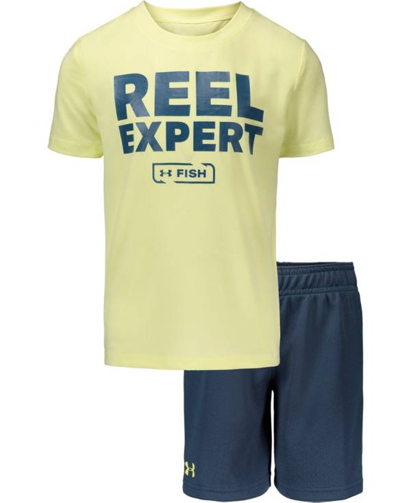 Under Armour Toddler Boys' Reel Expert T-Shirt and Shorts 2-Piece Set product image