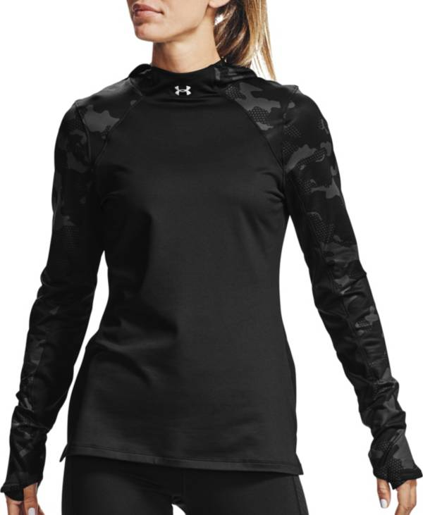 Under Armour Women's ColdGear Armour Camo Pullover Hoodie product image