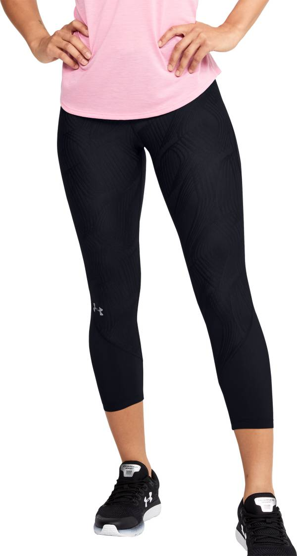 Under Armour Women's Jacquard Fly Fast Compression Capris product image