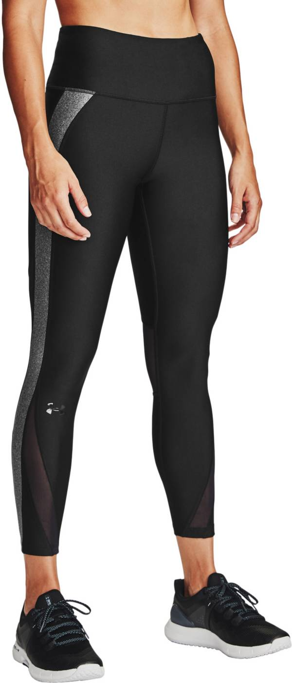 Under Armour Women's HeatGear Armour Colorblock Cropped Leggings product image