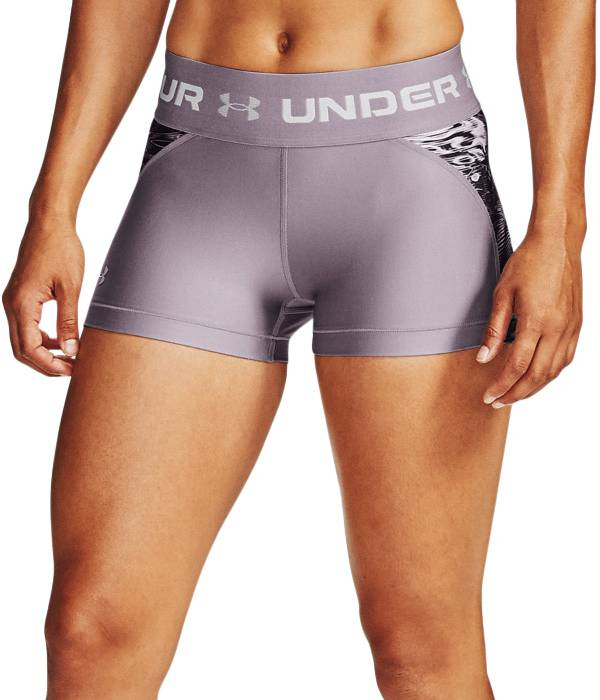 Under Armour Women's HeatGear Armour Printed Shorty Shorts product image