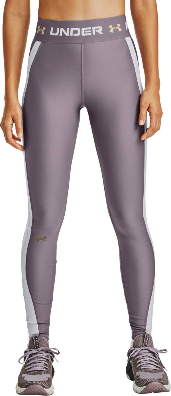 Under Armour Women's HeatGear Armour Wordmark Waistband Leggings product image