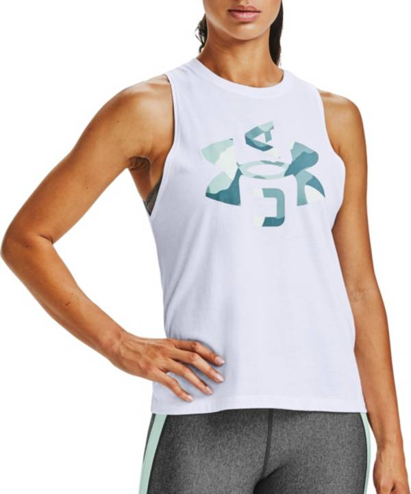 Under Armour Women's Logo Graphic Muscle Tank Top product image