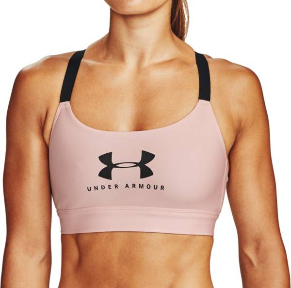 Under Armour Women's Mid Sportstyle Medium Support Graphic Sports Bra product image