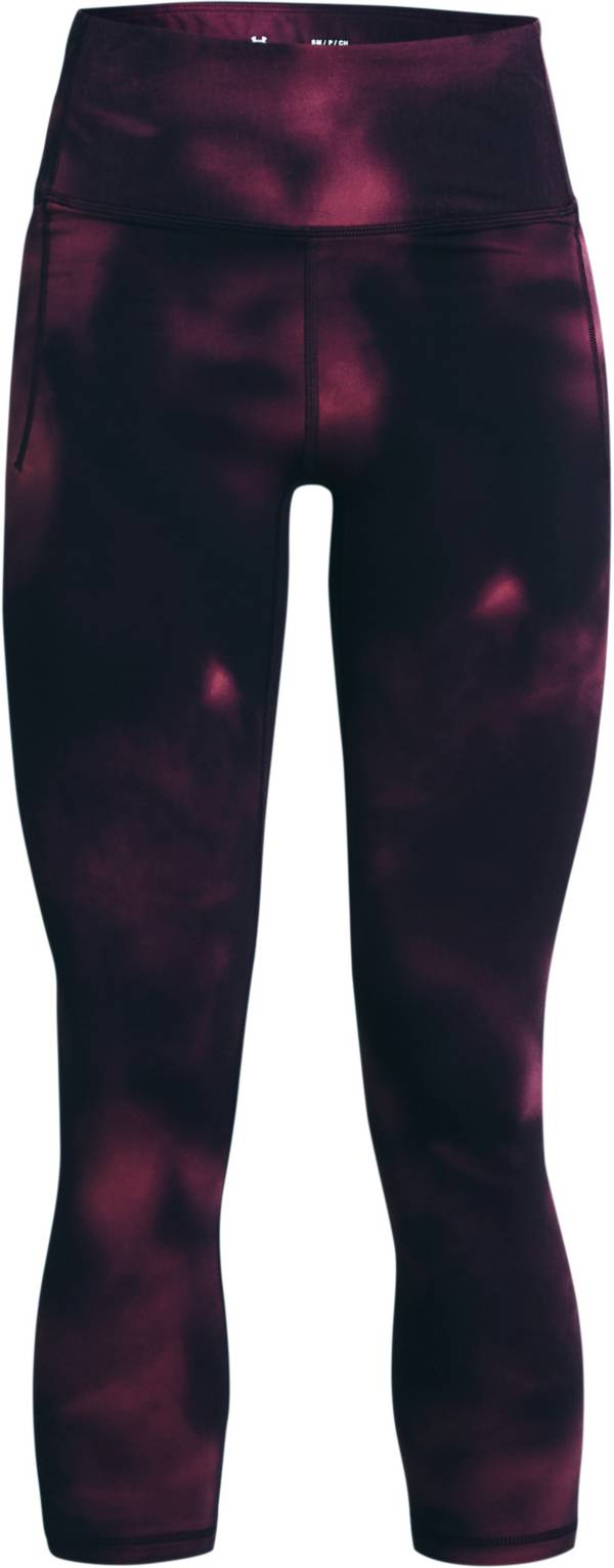 Under Armour Women's Meridian Printed Crop Leggings product image