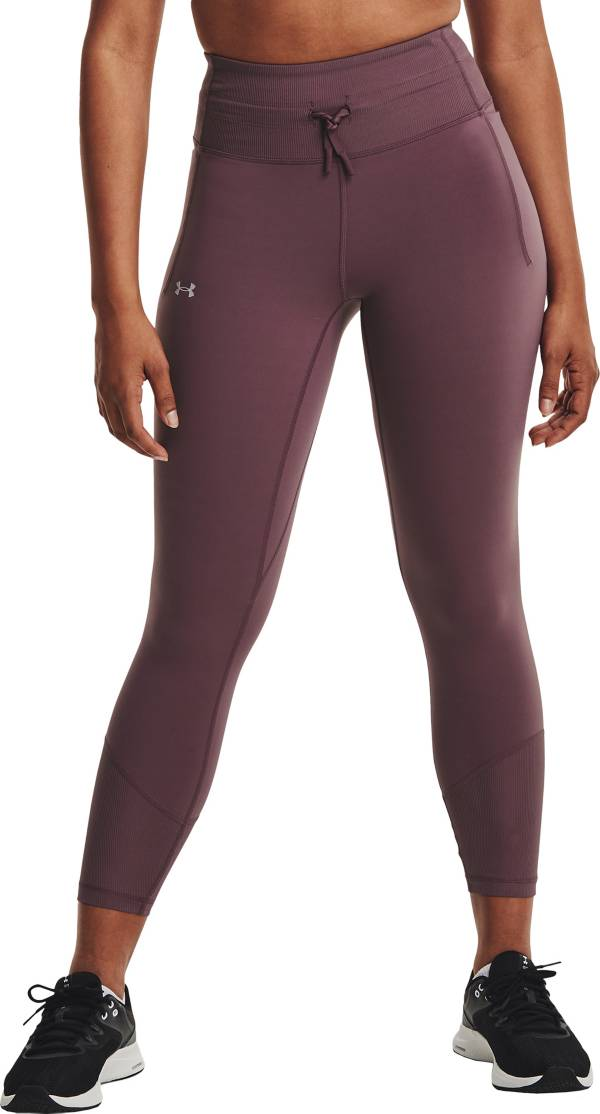 Under Armour Women's Meridian Rib No-Slip Ankle Leggings product image