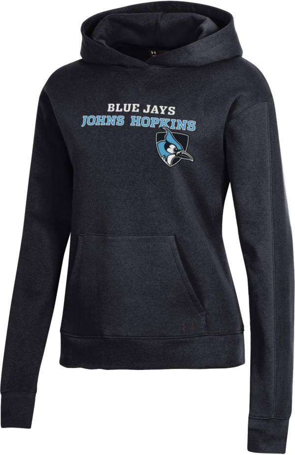 Under Armour Women's Johns Hopkins Blue Jays All Day Pullover Black Hoodie product image