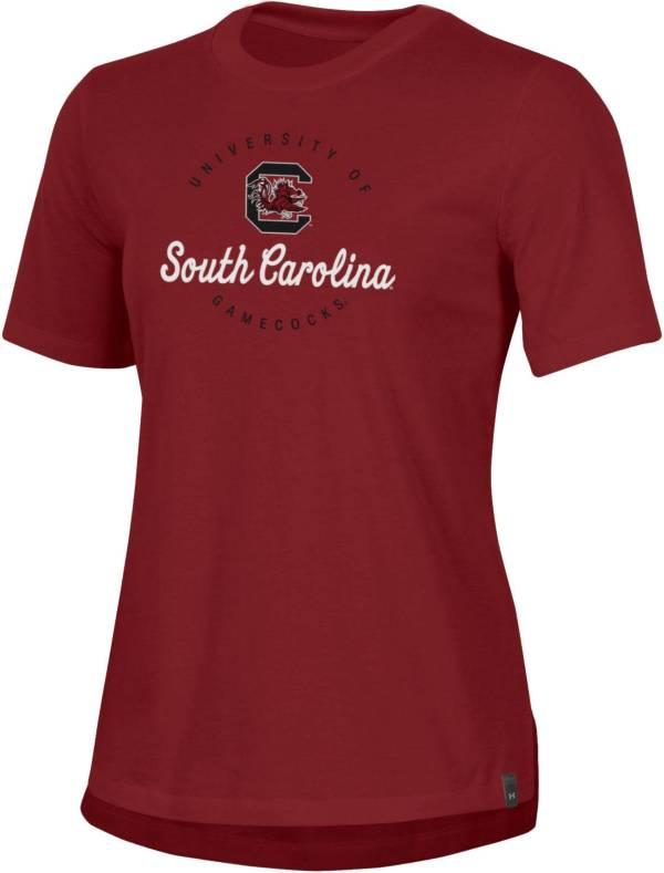 Under Armour Women's South Carolina Gamecocks Garnet Performance Cotton T-Shirt product image
