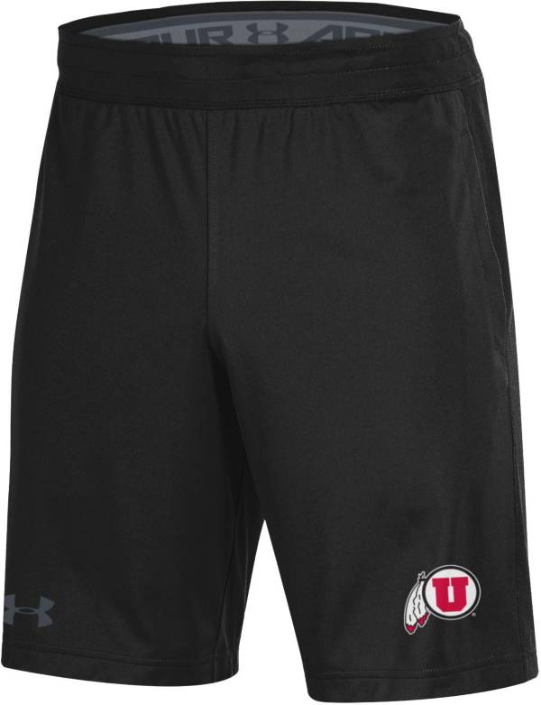 Under Armour Men's Utah Utes Black Raid Performance Shorts product image