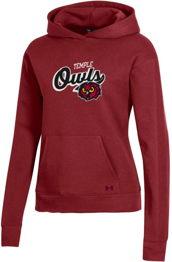 Under Armour Women's Temple Owls Cherry All Day Hoodie product image