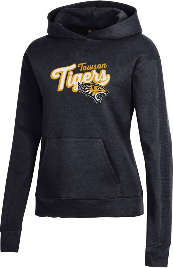 Under Armour Women's Towson Tigers All Day Pullover Black Hoodie product image