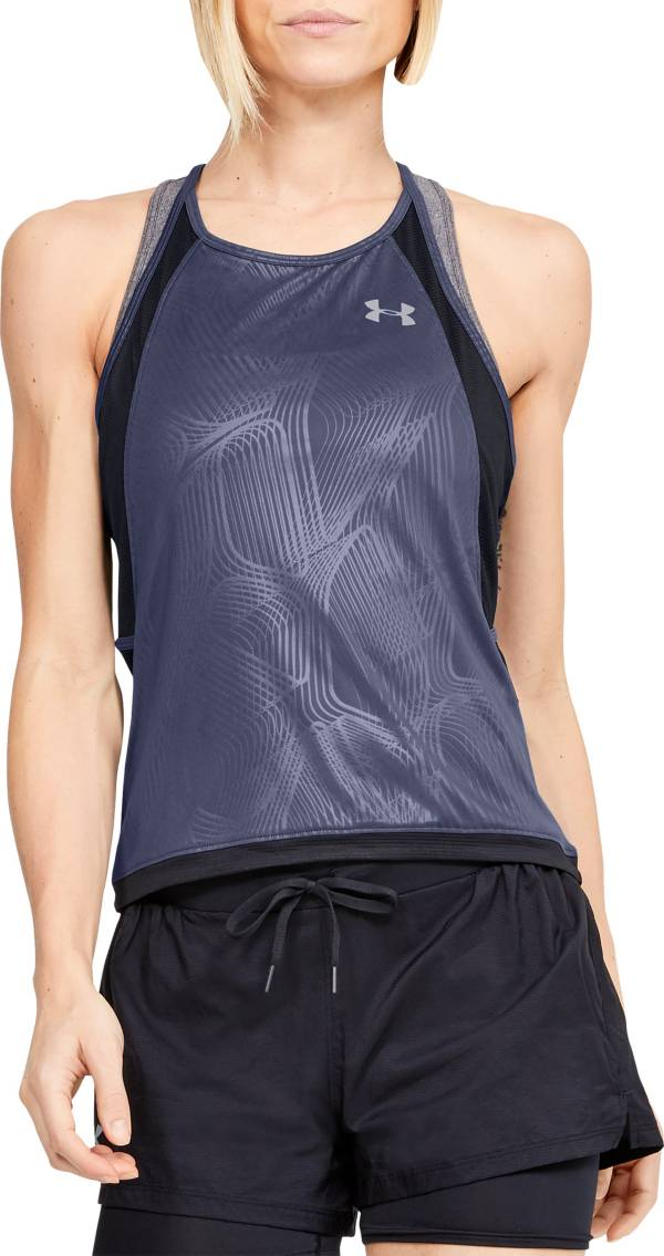 Under Armour Women's Embossed Qualifier Iso-Chill Running Tank Top product image