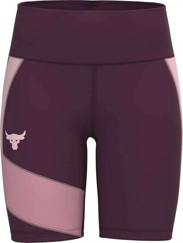 Under Armour Women's Project Rock HeatGear Bike Shorts product image