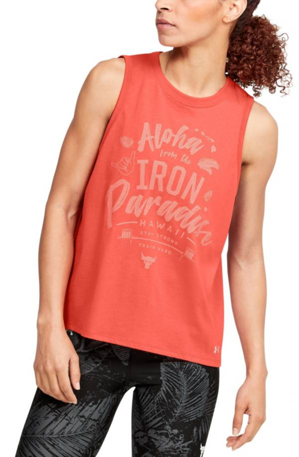 Under Armour Women's Project Rock Aloha Tank Top product image