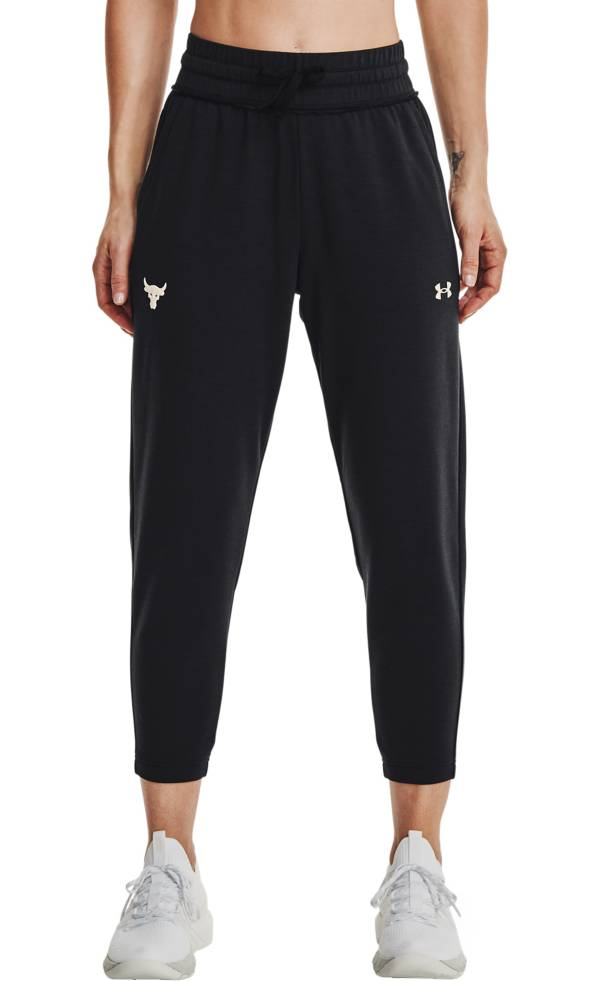 Under Armour Women's Project Rock Terry Crop Pants product image