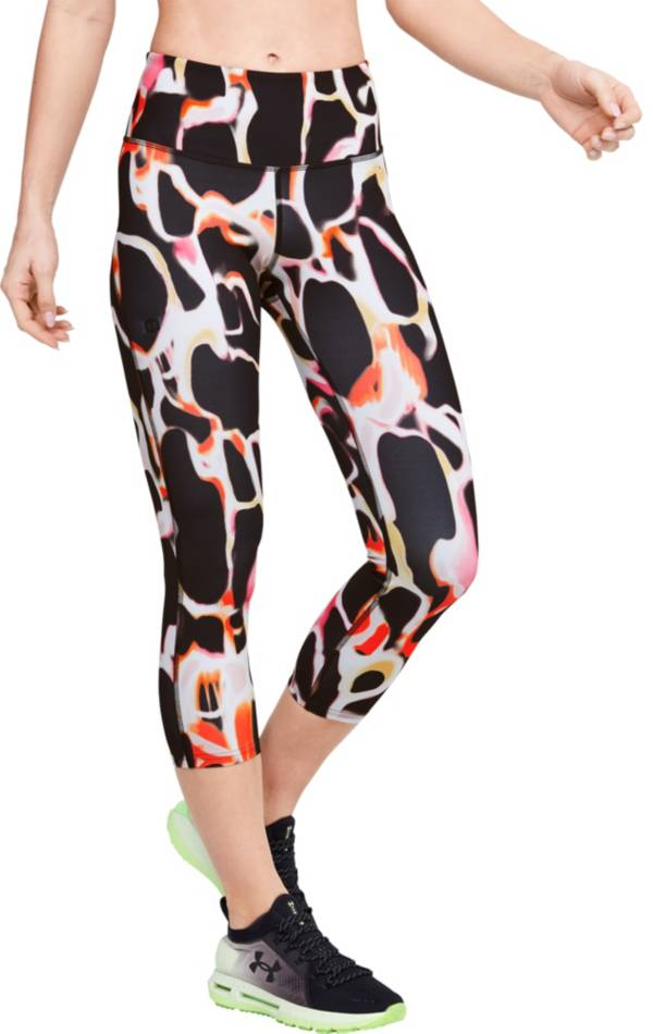 Under Armour Women's RUSH Electric Printed Crop Leggings product image
