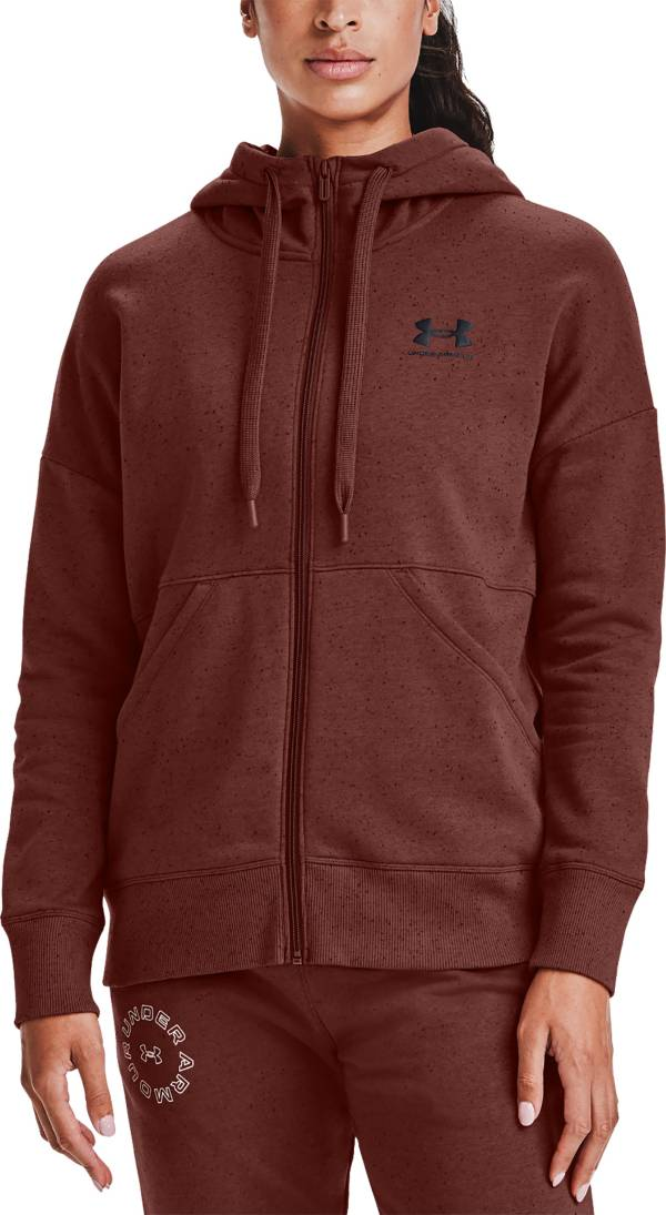 Under Armour Women's Rival Fleece Logo Full-Zip Hoodie product image