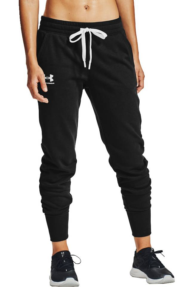 Under Armour Women's Rival Fleece Jogger Pants (Regular and Plus) product image