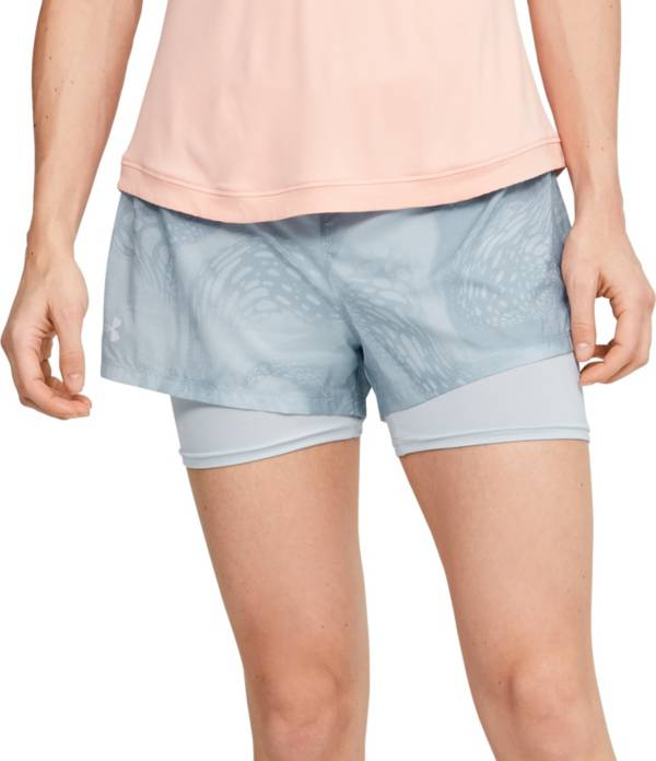 Under Armour Women's Run SpeedPocket 2-in-1 Weightless Shorts product image
