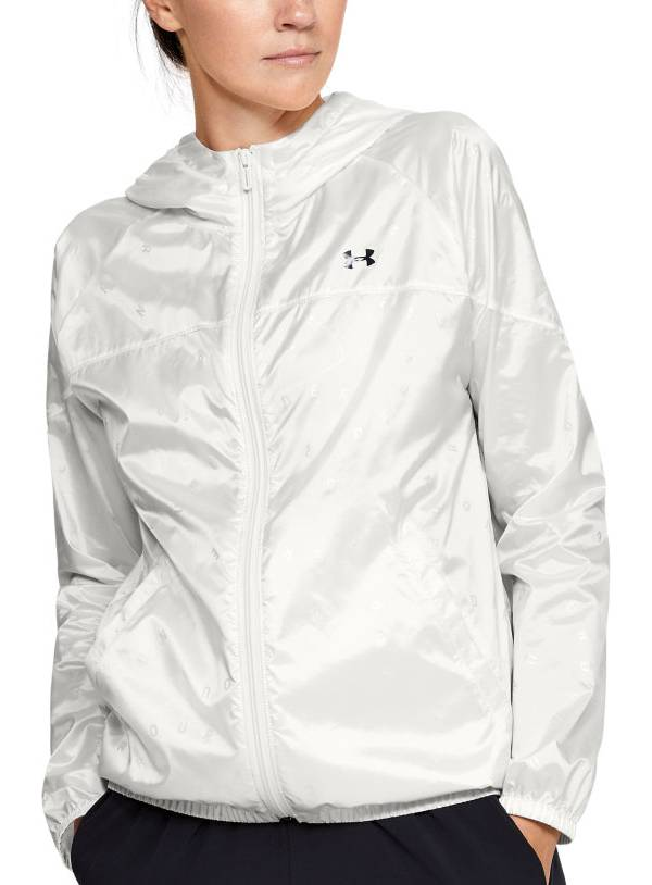 Under Armour Women's Woven Translucent Full-Zip Jacket product image