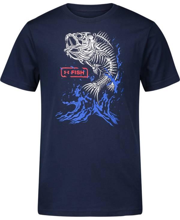 Under Armour Little Boys' Bass Bones Short Sleeve T-Shirt product image
