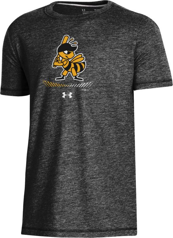 Under Armour Youth Salt Lake Bees Black Tri-Blend Performance T-Shirt product image
