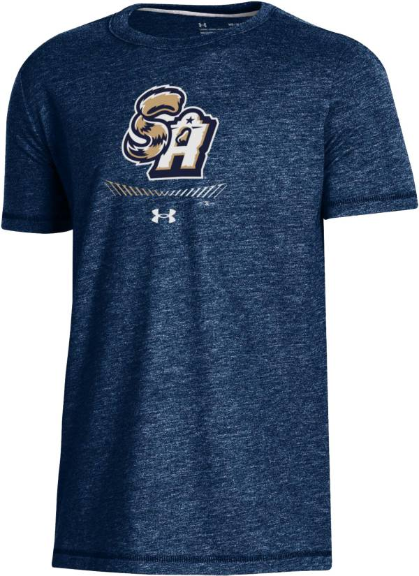 Under Armour Youth San Antonio Missions Navy Tri-Blend Performance T-Shirt product image