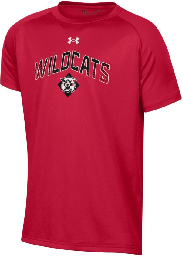 Under Armour Youth Davidson Wildcats Red Tech Performance T-Shirt product image