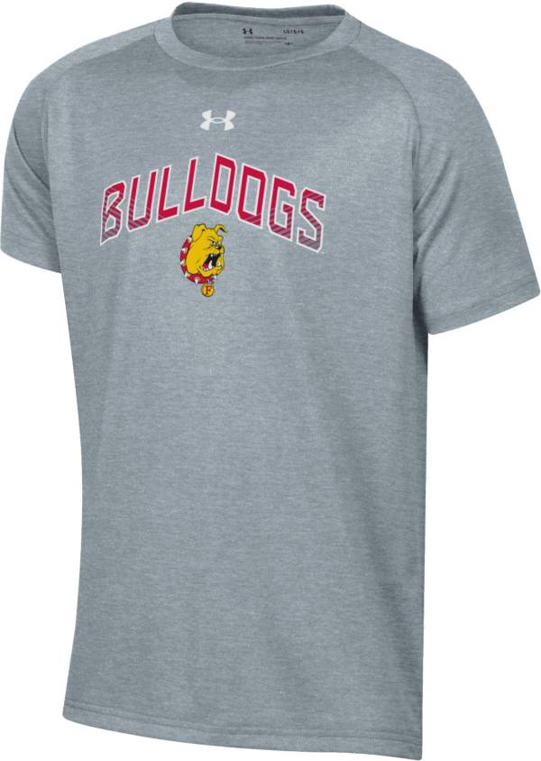 Under Armour Youth Ferris State Bulldogs  Grey Tech Performance T-Shirt product image