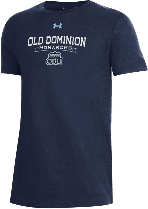 Under Armour Youth Old Dominion Monarchs Blue Performance Cotton T-Shirt product image