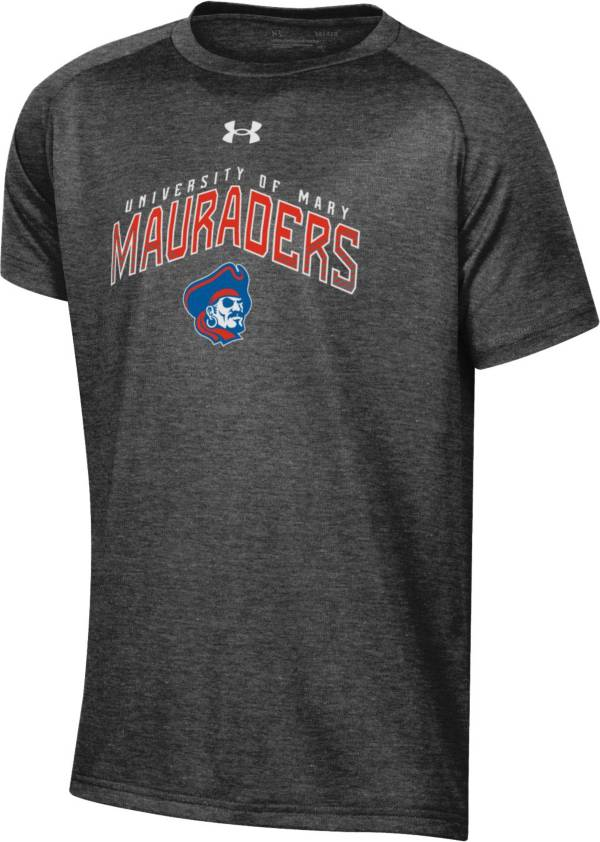 Under Armour Youth Mary Marauders Grey Tech Performance T-Shirt product image
