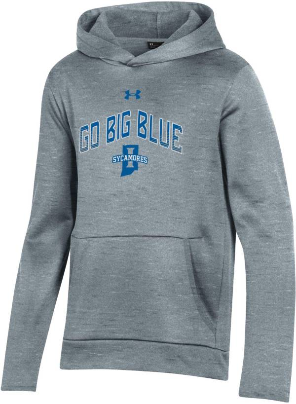 Under Armour Youth Indiana State Sycamores Grey Pullover Hoodie product image
