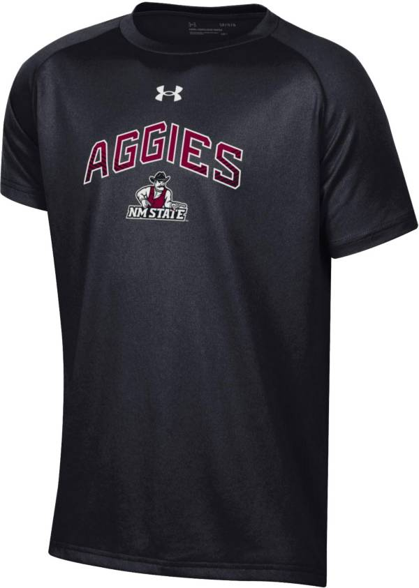 Under Armour Youth New Mexico State Aggies Tech Performance Black T-Shirt product image