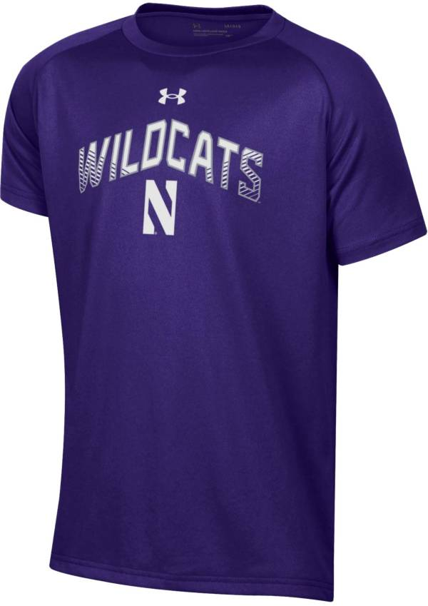 Under Armour Youth Northwestern Wildcats Purple Tech Performance Long Sleeve T-Shirt product image