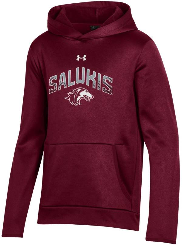 Under Armour Youth Southern Illinois  Salukis Maroon Pullover Hoodie product image