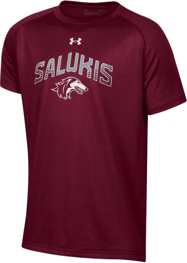 Under Armour Youth Southern Illinois  Salukis Maroon Tech Performance T-Shirt product image