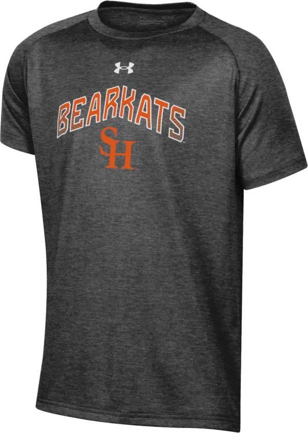 Under Armour Youth Sam Houston Bearkats Grey Tech Performance T-Shirt product image